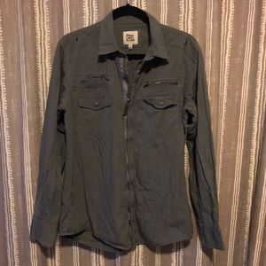 Paper Denim & Cloth Military Style Shirt